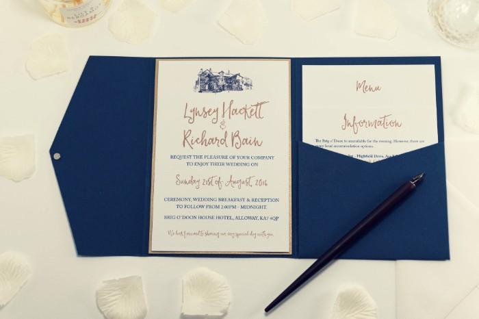 Tipos de invitaciones de boda